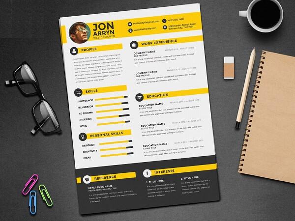 Những mẫu CV đẹp, chuyên nghiệp, đầy đủ thông tin nhất - Cv là gì?
