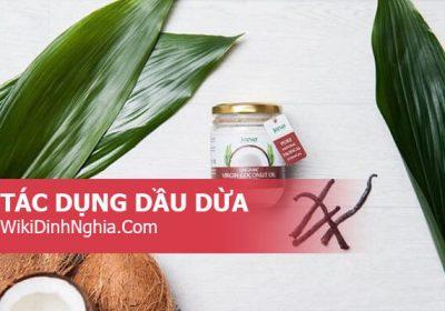 Dầu dừa là gì, những tác dụng của dầu dừa đối với da mặt, mái tóc, lông mi, với sức khỏe trẻ sơ sinh và bà bầu