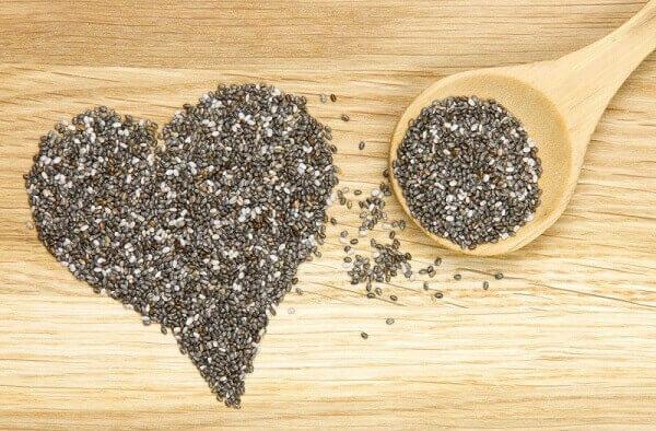 Hạt chia có tác dụng khá tốt đới với người ăn chay.