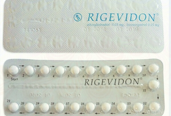 Thuốc tránh thai hàng ngày Rigevidon