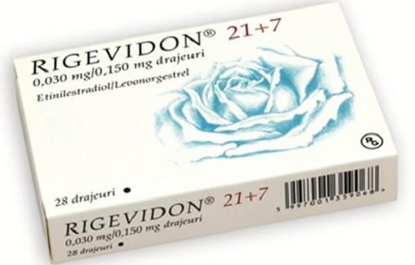 Thông tin cơ bản của thuốc tránh thai hàng ngày Rigevidon
