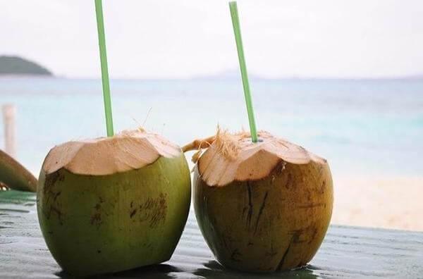 Uống nước dừa có bị mập không, câu trả lời là không nhé bạn, nó còn giúp bạn giảm cân nữa đấy.
