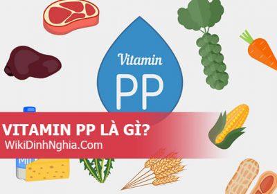 Vitamin pp là gì, vitamin pp có tác dụng gì, vitamin pp có trong thực phẩm nào?