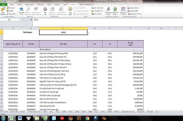 """""""Add in a tool"""" là một công cụ Add – tool được sử dụng trong Microsoft Excel"""