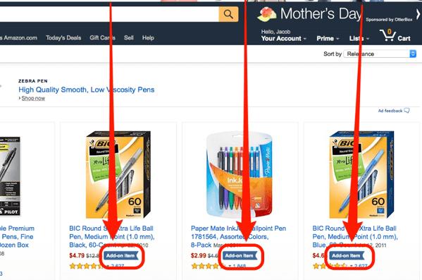 """""""Add on item"""" là cụm từ mà các bạn dễ dàng bắt gặp trên trang mạng bán hàng trực tuyến"""