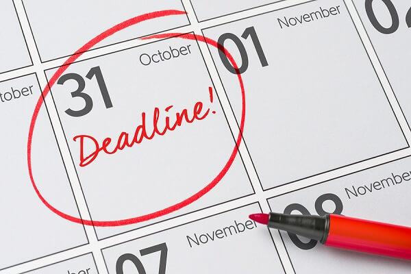 Deadline giúp thúc đẩy bản thân làm việc và hoàn thành nhiệm vụ