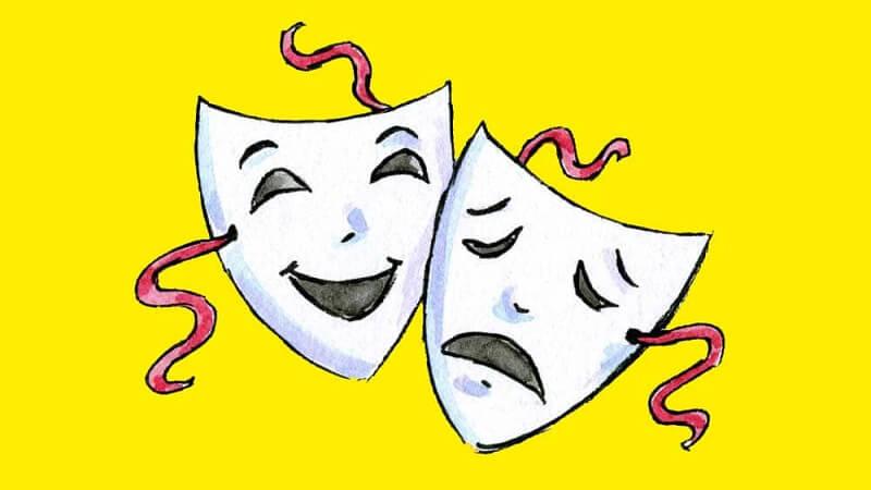 Và Drama cũng được coi là một thể loại thơ ca, sự kịch tính được đối chiếu với các giai thoại sử thi và thơ ca