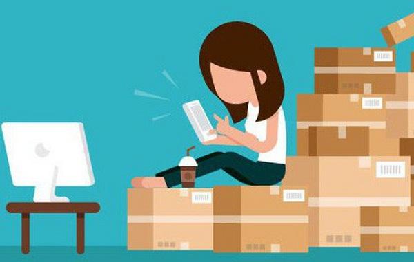 Order hàng hóa online là một thói quen của đông đảo bạn trẻ hiện nay
